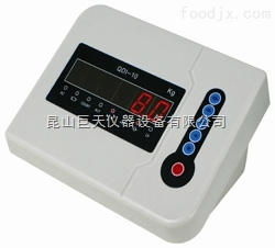 秋毫QDI-10台秤显示仪表,QDI-10秋毫计数仪表台秤专用