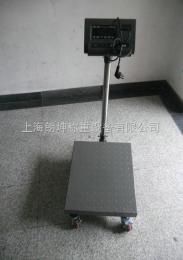 LK-TCS上海带轮子可移动电子台秤,100kg电子秤