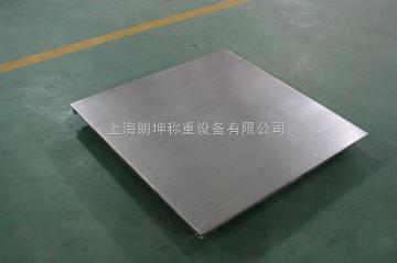 LK-SCS食品厂专用不锈钢电子地磅,3t防水型电子平台秤