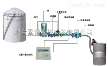 YDGZ-R糖漿軟包裝灌裝機/糖漿定量灌裝180公斤大桶設備