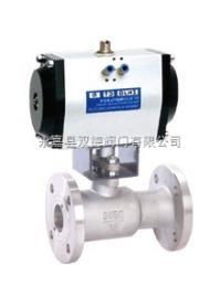 QJ641M气动高温球阀,气动球阀,高温球阀