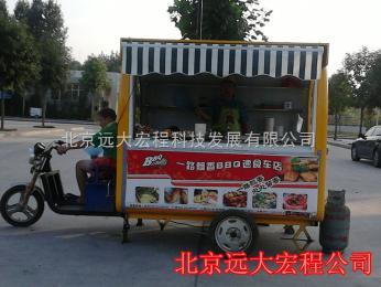 流动店铺多功能电动小吃车介绍