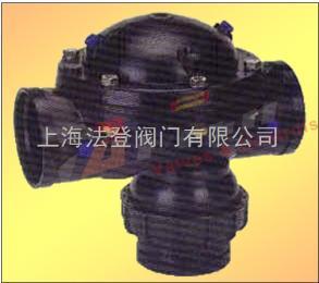 DOROT多若特氣動塑料三通閥、塑料三通隔膜閥、三通反沖洗閥