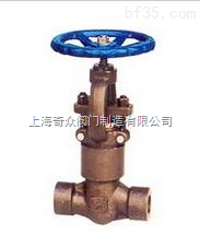 900Lb~2500lb鍛鋼自密封截止閥 上海冠龍閥門 品質保證