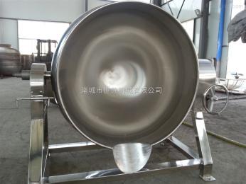 100升不锈钢带搅拌酱料夹层锅