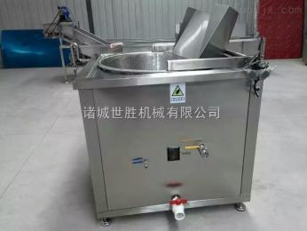 SH-1200不锈钢豆泡油炸机 油炸锅 电加热油炸机