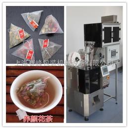 玫瑰配柠檬立体三角袋袋泡配方茶自动包装机