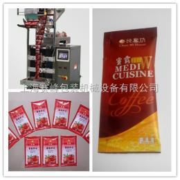 SF-800J袋装蜂蜜、袋装番茄酱、袋装辣椒油条料包包装机
