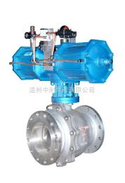 Q641F型Q641F气动不锈钢球阀