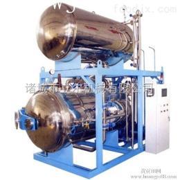 lr1500*6000半自动双层水浴式电加热蒸汽式杀菌锅两用