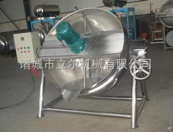 400L可倾式电加热搅拌夹层锅