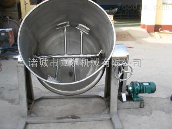 下搅拌可倾式夹层锅(电)