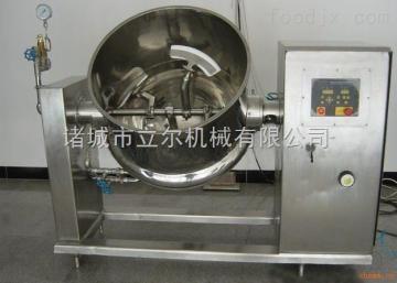 下搅拌可倾式夹层锅(燃气)
