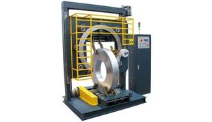 上海廠家直供鋼絲自動包裝機,金屬纏繞機,金屬材料纏繞包裝機