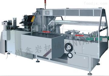 xy-zh150廠家供應餅干全自動裝盒機 餅干全自動熱熔膠封盒機
