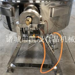 KS-600FL燃气搅拌夹层锅