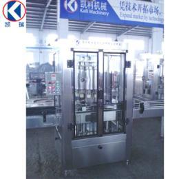 酒水生产厂家推荐凯利机械阀高精度酒水灌装机