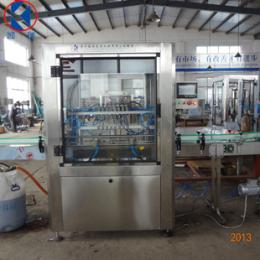 全自动直线式液体灌装机 流量计式油类灌装机