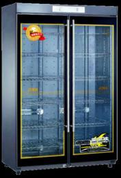 億高YTD980 雙玻璃門豪華型噴漆紫外線臭氧/電熱