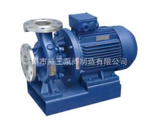 ISWH型卧式不锈钢管道离心泵_生产厂家_价格_结构图_工作原理_参数