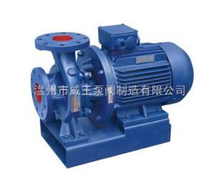 卧式管道泵型号:ISW型卧式管道泵