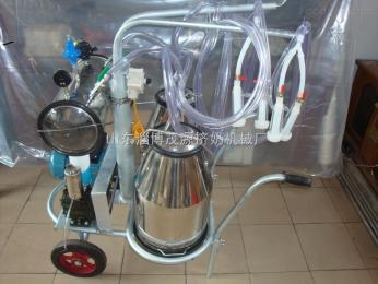 9jyz-2双桶式奶羊挤奶机挤奶机器