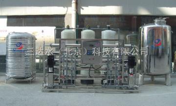 双级反渗透每小时2吨高纯水设备