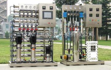SDSEDI純水設備系統出水電阻率可穩定在15MΩ.CM以上