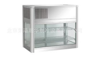 北京直销供应四面玻璃台风冷展示柜  饮料柜制冷设备 厨房冰柜