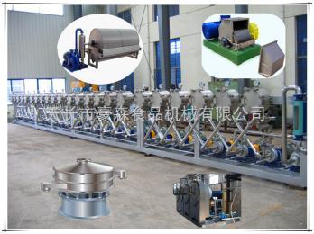 hs-120芭蕉芋淀粉機械設備