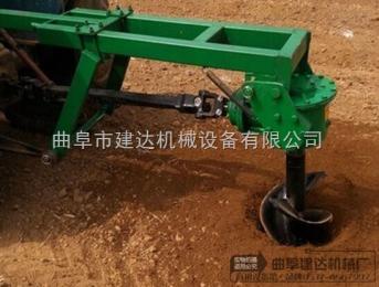 供应植树挖坑机 拖拉机后传动轴挖坑机厂家