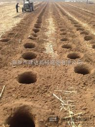 JK-1供应拖拉机挖坑机供应商 挖坑机规格