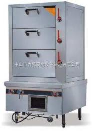 LQ01D/HX3不锈钢三门海鲜蒸柜