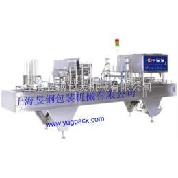 YKF-9000F/G气动塑杯充填封口机