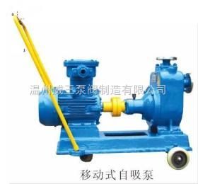 JMZ、FMZ移動不銹鋼自吸泵(酒精泵)防爆自吸泵