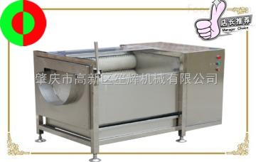 QX-608瓜果毛刷清洗去皮机土豆/香芋去皮