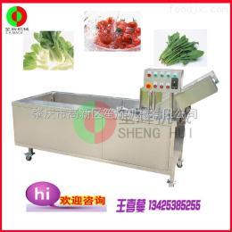 QX-22蔬果加工机械 豪华型臭氧消毒气泡洗菜机  蔬菜清洗机