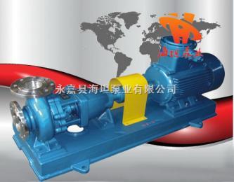 IH型永嘉县海坦泵业有限澳门新葡京线上官网 IH型不锈钢化工离心泵