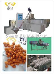 臥式寵物飼料生產線設備、飼料膨化機