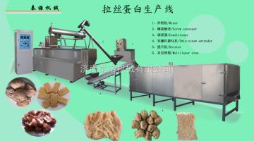 泰诺制造成套拉丝蛋白生产设备、大豆蛋白加工机械