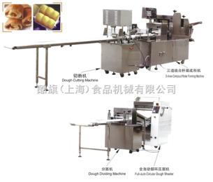 KQ奶香面包生產流水線