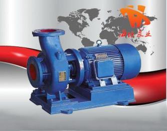 离心泵原理,离心泵制造,ISW型卧式管道离心泵