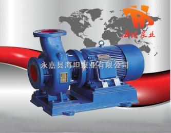 离心泵系列,ISW型卧式管道离心泵