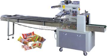 SJ-250B夹心蛋糕自动充氮气包装机/枕包机