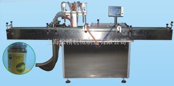 全自动活塞式灌装机酱油灌装机械/瓶装机