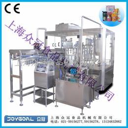 ZLD-4A带吸嘴式自立袋/调味品灌装机/吸吸果冻灌装机