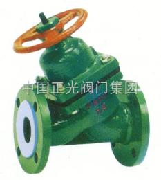 G45G45F46衬氟直流式隔膜阀