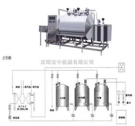 3T/H聯體式手動CIP清洗系統