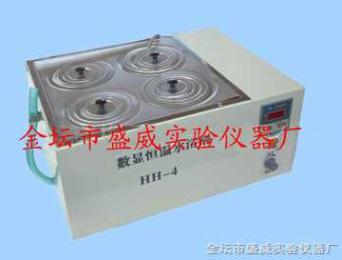 HH-S4雙列四孔水浴鍋
