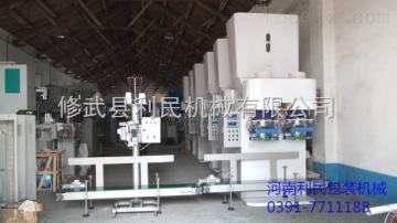 河南利民机械广西淀粉自动包装机厂家